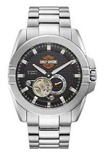 送料無料 腕時計 ハーレーダビッドソンメンズステンレススチールharley davidson 76a166 2020モデル mens stainless automatic rrp 正規品送料無料 steel £21900 watch