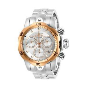 送料無料 腕時計 インビクタヴェノムラウンドアナログステンレスクロノグラフinvicta venom 29627 mens round steel watch stainless 予約販売品 date 供え chronograph analog