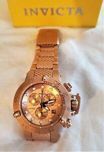 送料無料 腕時計 インビクタガブリエルユニオンローズゴールドスバクアウォッチinvicta gabrielle union 4 定価の67%OFF 100%品質保証 subaqua gold rose watch