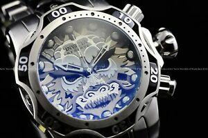 送料無料 腕時計 贈呈 インビクタリザーブヴェノムサムライドラゴンスイスクロノシルバーブラックウォッチ 人気の製品