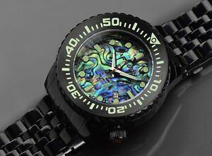 送料無料 腕時計 アラゴンダイブマスターブラック 舗 年中無休