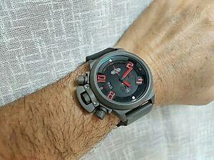 当店は最高な サービスを提供します OUTLET SALE 送料無料 腕時計 ダイバーウォッチクォーツブラックレッド
