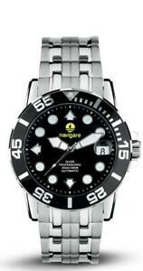 送料無料 腕時計 ナヴィガーレオロロジオダイバーnavigare orologio diver ref 驚きの値段で 祝日 na10501 automatic 500mt