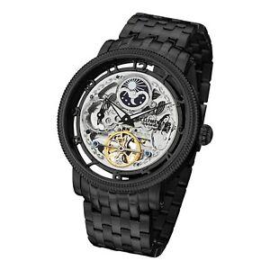 送料無料 腕時計 売れ筋 スチュリングオリジナルメンズスケルトンウォッチstuhrling original mens 贈物 skeleton automatic watch 411335b1