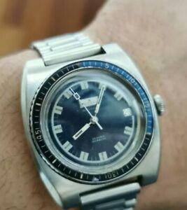 送料無料 『1年保証』 腕時計 ダイバーヴィンテージウォッチリゾットムーブメントベークライトベゼルdiver vintage 激安通販ショッピング watch a rizant 37mm movement automatic eta bakelite bezel