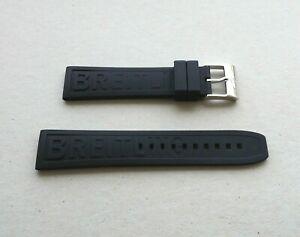 送料無料 再入荷 予約販売 腕時計 ブライトリングラバーストラップbreitling rubber ansa !超美品再入荷品質至上! strap 22 mm
