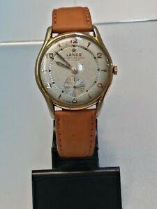 送料無料 流行のアイテム 腕時計 オロロギウオーランコプラッカートヴィンテージキャッサorologio uomo lanco 超安い 1305 37 mm placcato vintage cassa