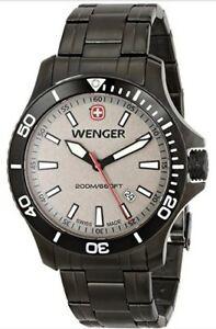 送料無料 腕時計 ヴェンゲルシーフォースステンレススチールウォッチwenger mens 0641107 ギフト stainless force <セール&特集> sea watch steel