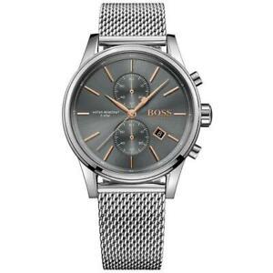 送料無料 腕時計 毎日がバーゲンセール ジェットステンレスメンズウォッチboss watches jet stainless mens 100 1513440 steel watch genuine 直輸入品激安