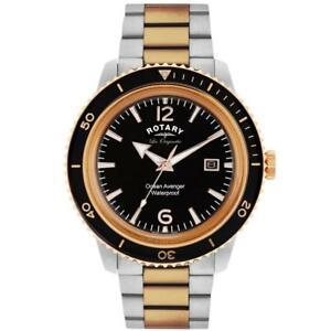 送料無料 腕時計 ロータリーレオリジナルススイスメンズオーシャンアベンジャーウォッチrotary gb9009604 les originales swiss made 期間限定特別価格 mens 豪華な avenger watch £329 ocean rrp
