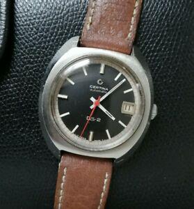 【送料無料】腕時計 セルティナタートル70s certina ds2 turtle vtg