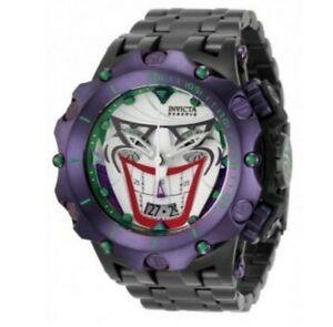 【送料無料】腕時計 インビクタコミックスジョーカーグリーンパープルウォッチinvicta 52mm dc comics joker green purple watch