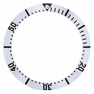 送料無料 売店 腕時計 ベゼルreplacement bezel insert silver watch 3320mm for 在庫限り color 26mm x