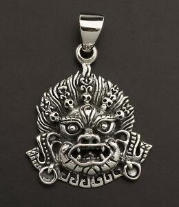 送料無料 通信販売 ジュエリー アクセサリー チベットペンダントデイテマハカラシルバージュエリーチベットpendentif tibetain deite mahakala argent l18 tibet bijoux 25857 925 218g 早割クーポン