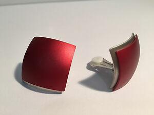 送料無料 ジュエリー アクセサリー ペンディエンテスロホアルミニウムアルミニウム pendientes earrings サービス 数量限定 rojo sedistri aluminio aluminium red