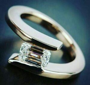 <title>送料無料 ジュエリー アクセサリー エメラルドホワイトモイッサニテハーフベゼルリングエンゲージセットシルバー2ct smeraldo bianco moissanite 倉庫 mezza lunetta set fidanzamento anello 925 argento</title>