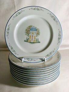 【再入荷!】 【送料無料】キッチン用品・食器・調理器具・陶器 レノックスビレッジサラダプレート10 The Lenox Village 8 1/4 Salad Plates, 英田町 f8d2fd3a