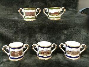 全ての 【送料無料】キッチン用品・食器・調理器具・陶器 異なるロイヤル・ドゥルトンミニミニチュア愛するカップロイヤル・バース・プレイス 5 different Royal Doulton mini / miniature loving cups - Royal Birthplaces, カーショップサービスmeiju 33668995