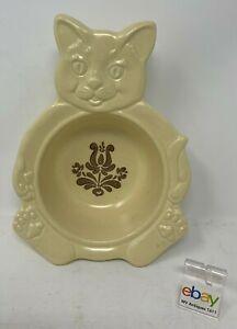 【超特価SALE開催!】 【送料無料】キッチン用品・食器・調理器具・陶器 プファルツグラフ村子供用ボウル猫と皿シリアル用子猫 Pfaltzgraff USA Village Child's Bowl / Dish with Cat / Kitten for Cereal, HTF, ユーキャン通販ショップ c32c1313
