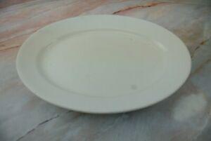 驚きの価格が実現 送料無料 キッチン用品 食器 調理器具 陶器 アンティークアイアンストーンアルフレッドミーキンイングランドホワイトオーバルプラッター Antique 在庫一掃売り切りセール Ironstone 13-1 White Platter Oval Alfred England Meakin 2