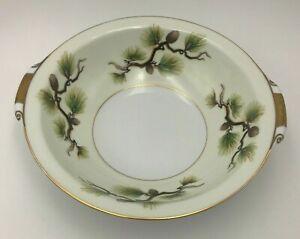 【送料無料】キッチン用品・食器・調理器具・陶器 ナルミ中国シャスタパイン磁器丸オープン野菜サービングディッシュNarumi China Shasta Pine Porcelain Round Open Vegetable Serving Dish 9 x 2.5