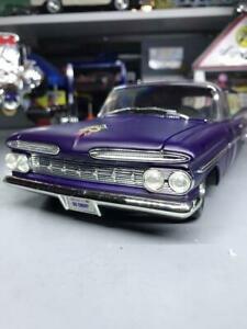 送料無料 模型車 モデルカー シェビーパンネロカロモディフィカート1959 chevy carro 限定モデル modificato 118 pannello 安心の定価販売