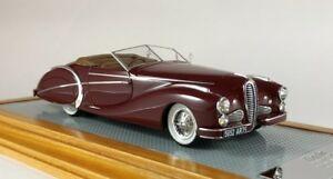 <title>送料無料 模型車 モデルカー イラリオデラヘイロードスターサウチクパリショーilario il114 143 delahaye 135 ms roadster saoutchik paris 完売 show 1949 sn801424</title>