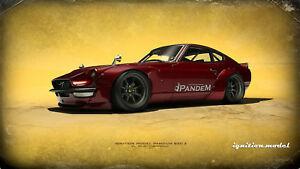 <title>送料無料 模型車 モデルカー イグニッションモデルパンデムレッドメタリックignition models pandem 正規取扱店 s30z red metallic 118 ig1006</title>