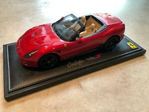 <title>送料無料 模型車 モデルカー フェラーリカリフォルニアレッドレッドエンツォエンツォ2008 ferrari AL完売しました。 california t redred enzo bbr 118</title>