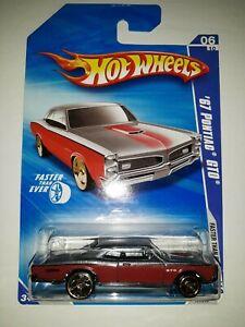 送料無料 模型車 モデルカー ホットホイールポンティアックシリーズマテルhot wheels 67 pontiac gto than ever p5 faster series 新品 mattel 2009 人気上昇中