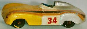 送料無料 模型車 モデルカー トゥーツィートイジャガータイプアメリカtootsietoy 3 5%OFF jaguar d 1950s usa ふるさと割 type circa in made