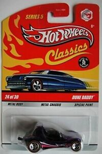 送料無料 模型車 モデルカー ホットホイールクラシックシリーズパープルデューンパパスポークhot wheels classics series 開店記念セール 5 purple spoke daddy 24 dune 30 line 日時指定 of red