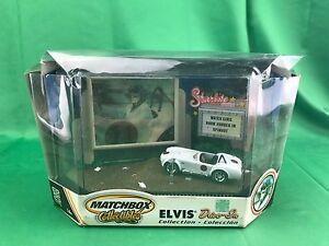 送料無料 《週末限定タイムセール》 模型車 モデルカー シェルビーコブラマッチボックスエルビスドライブインコレクション1965 shelby cobra 爆買い新作 matchbox elvis up beat box in collection drive