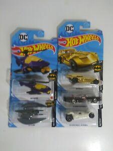 送料無料 模型車 開店記念セール モデルカー ホットホイールバットマンロットhot wheels lot 5 of 最新号掲載アイテム nip batman