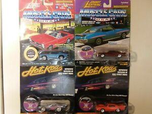 <title>送料無料 模型車 モデルカー ジョニーライトニングマッスルカーホットロッドjohnny lightning lot of 4 muscle cars n hot rods 高品質</title>