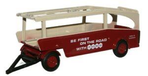 格安店 送料無料 模型車 オックスフォードフォードトレーラートランスポーターパッケージングポスト モデルカー 格安激安