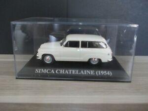 送料無料 模型車 モデルカー シムカシャトレーヌ143 simca 格安激安 セール 登場から人気沸騰 1954 chatelaine