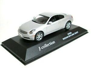送料無料 模型車 モデルカー スカイラインシルバーnissan silver 特価品コーナー☆ 在庫限り 350 skyline gt