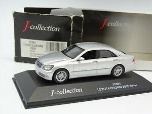 大人気 【送料無料 2005】模型車 モデルカー toyota コレクショントヨタクラウンシルバーj silver collection 143 toyota crown 2005 silver, ピアス ルクール:b8154c47 --- independentescortsdelhi.in
