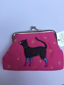 【送料無料】猫 ネコ キャット バッグ 小物 ギゼラグラハムブラックキャットコイン