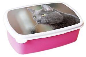 【送料無料】猫 ネコ キャット バッグ 小物 コラートピンクkorat cat animal pink lunchbox 183