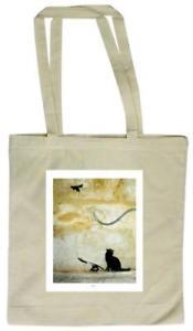 【送料無料】トートバッグcat tote bag 27 x 34cm