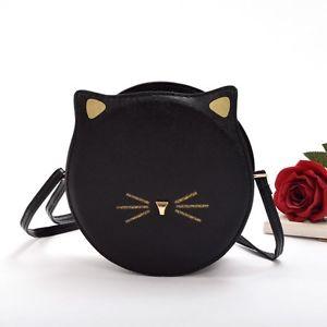 【送料無料】猫 ネコ キャット バッグ 小物 バッグメッセンジャーバッグバッグパターン1pc shouder bag messenger bag crossbody bag girls cute cat pattern pu 2 colors