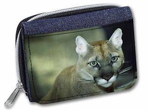 【送料無料】猫 ネコ キャット バッグ 小物 クーガーレディースデニムクリスマスstunning big cat cougar girlsladies denim purse wallet christmas gift idea
