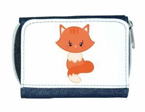 【送料無料】猫 ネコ キャット バッグ 小物 レディースcat 1 plain cute statement ladies purse blue