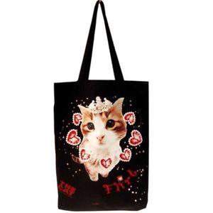 【送料無料】##;トートバッグショッピングショルダーバッグthe cat 034;flirt034; tote bag shopping shoulder bag