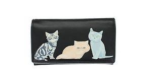 【送料無料】猫 ネコ キャット バッグ 小物 レザーベストフレンドコレクションブラック