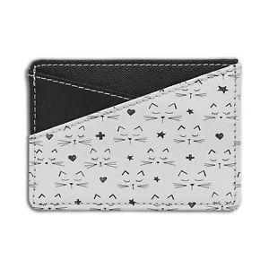 【送料無料】猫 ネコ キャット バッグ 小物 パターンクレジットカードホルダーウォレットcats stars heart pattern credit card holder wallet s112