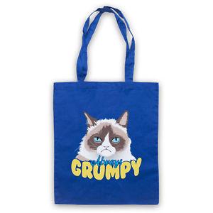 【送料無料】ネコミームトートバッグgrumpy cat unicial always grumpy kitten funny meme tote bag life shopper
