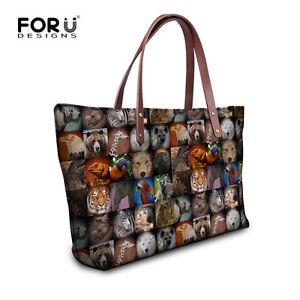 【送料無料】トートショッパービーチバッグスペインハンドバッグレディースアニマルプリントtote shopper beach bag summer womens spanish handbag satchel ladies animal print